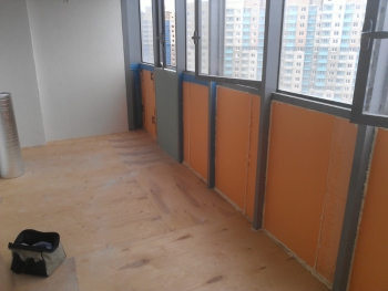 Теплый пол для балкона