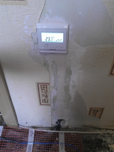 Процесс установки теплого пола